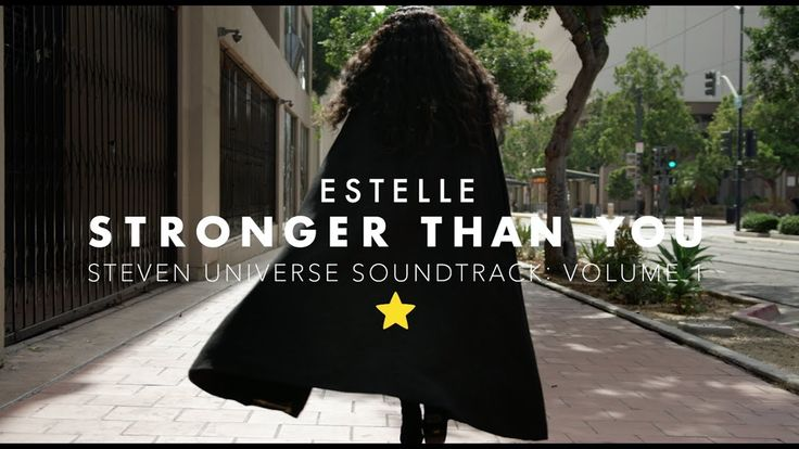 "Estelle (voice of Garnet) performs ""Stronger than You"" with a lovely group of Steven Universe fans like YOU!"