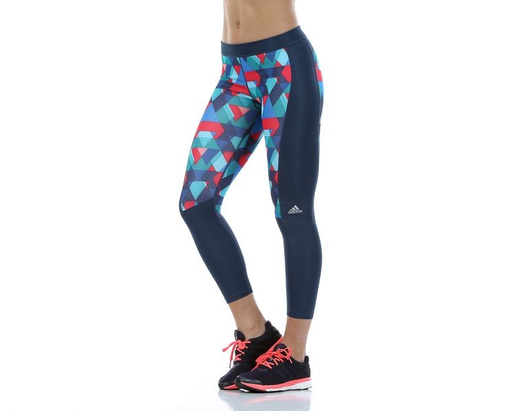 Techfit Long Tights Glo Tri