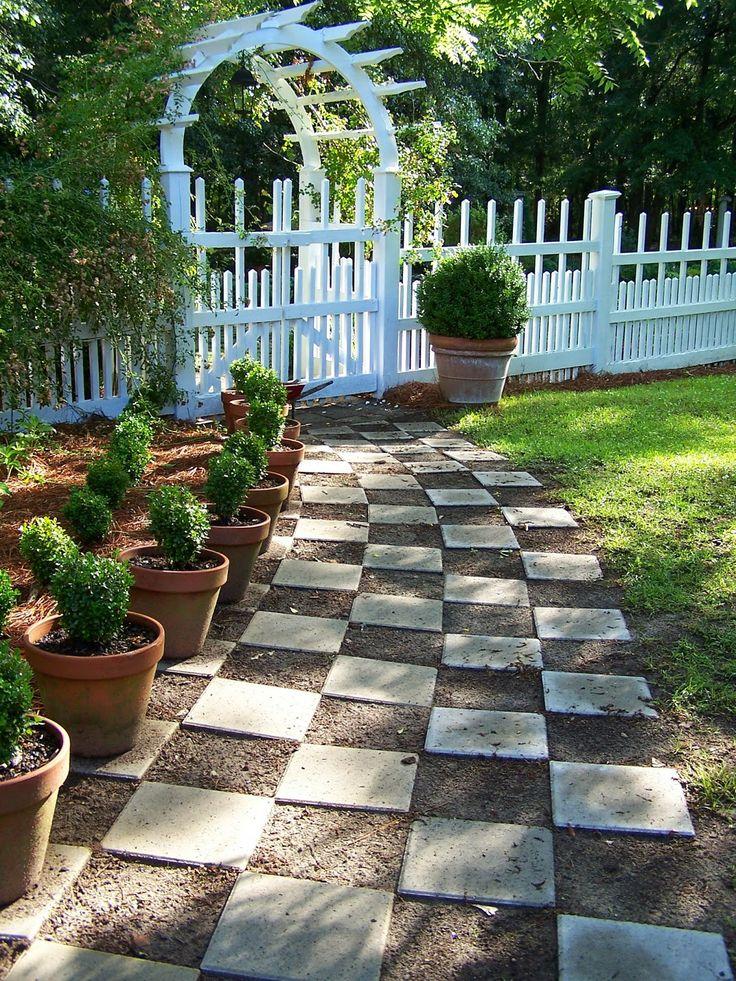 582 best images about alaska garden on pinterest gardens for Checkerboard garden designs