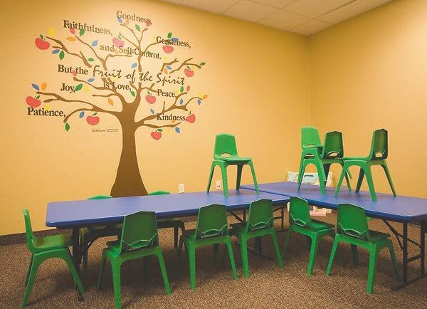Best 25 sunday school rooms ideas on pinterest for Church mural ideas