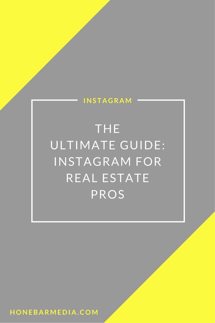 Instagram for real estate pros