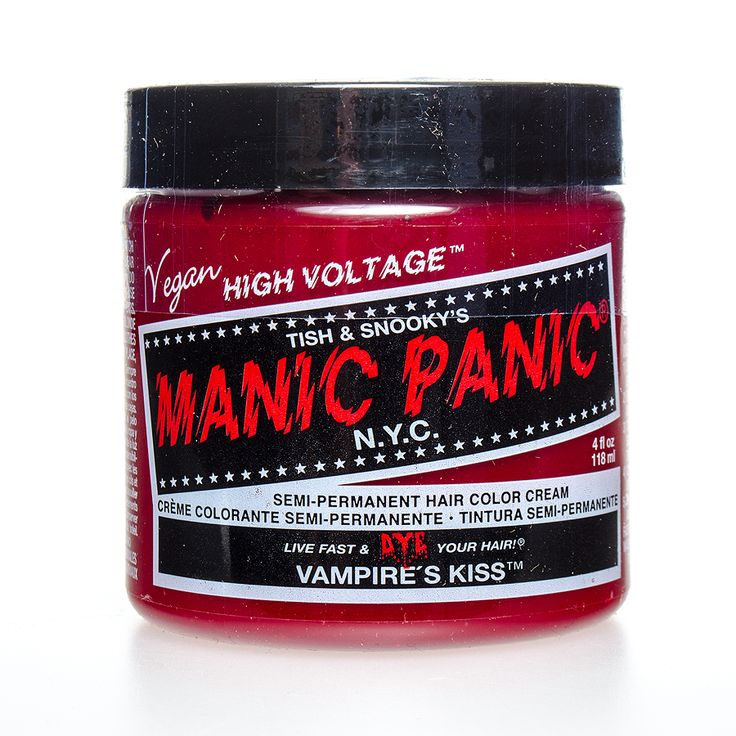 Manic Panic Classic Colour Semi Permanent Hair Colour in Vampire's Kiss