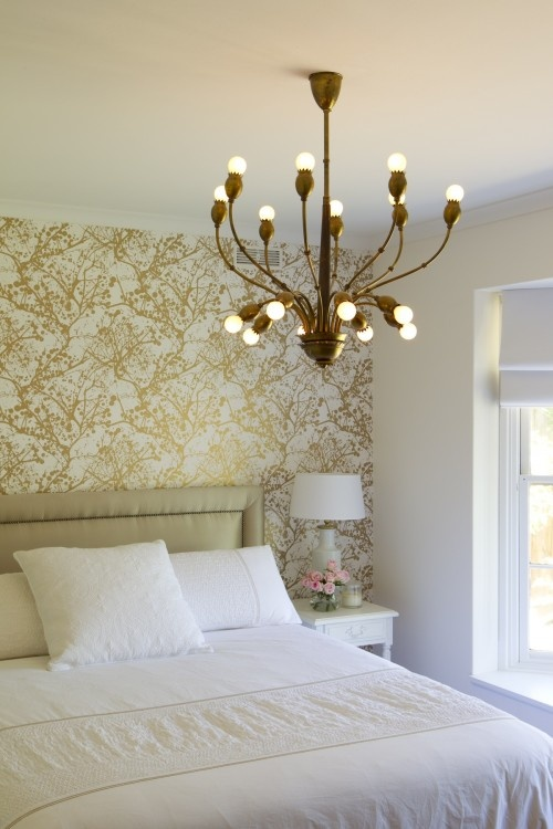 101 best Metallic & White Bedrooms images on Pinterest | Home ideas ...