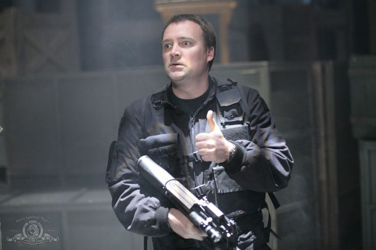 I think this picture basically describes him. :D | Dr. Rodney McKay (David Hewlett) - Stargate: Atlantis