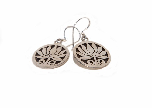 Bodhi Tree Earrings  Making its debut in our new Mindfulness Collection, this bodhi jewelry makes the perfect yoga accessory. Handcrafted in the heartland of Eastern spirituality and homeland of the Buddha by our Nepali artisans. Perfect for those looking for a little inspiration in their daily life. Sterling silver. Measures 2cm wide by 2.5cm long.  Price: $60