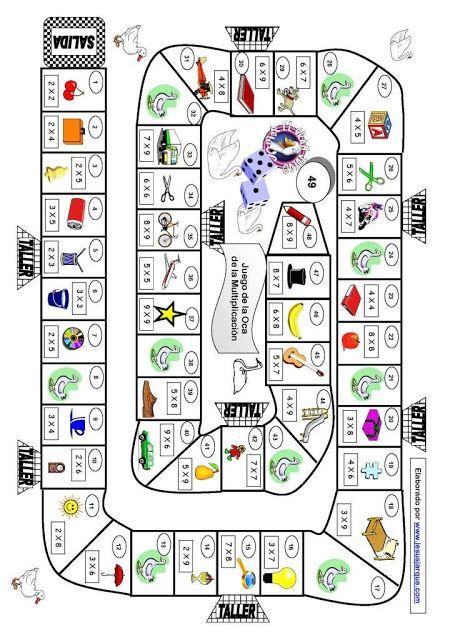 Aprende las tablas de multiplicar con este Juego de la Oca