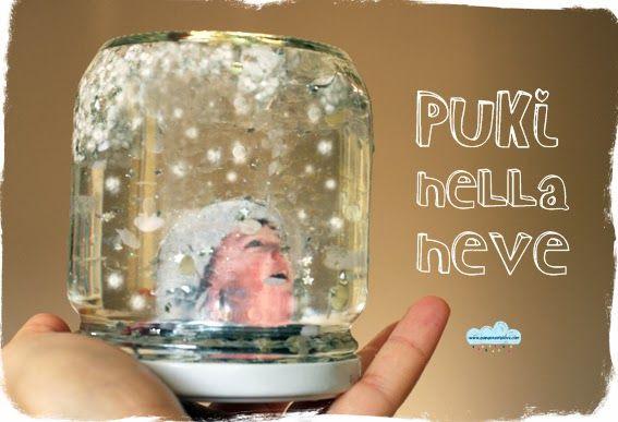 la palla di vetro con la neve personalizzata! d.i.y. customized snow globe