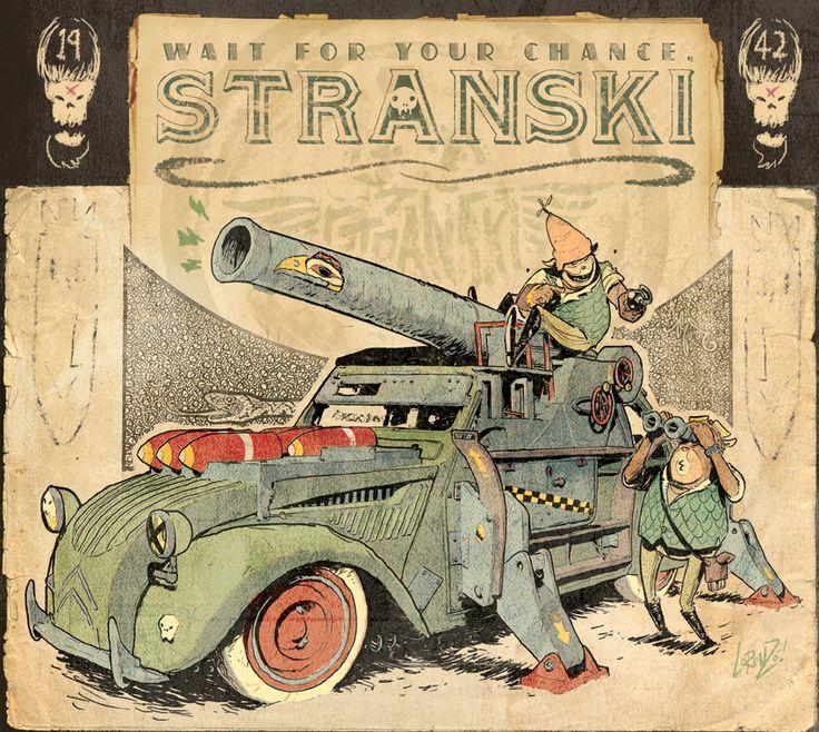 Stranski Character 10 - 2CV by ~STUDIOBLINKTWICE on deviantART