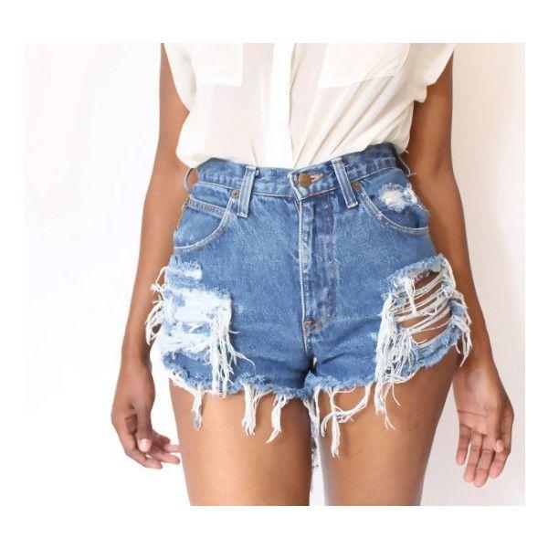 Die besten 25  Vintage high waisted shorts Ideen nur auf Pinterest ...