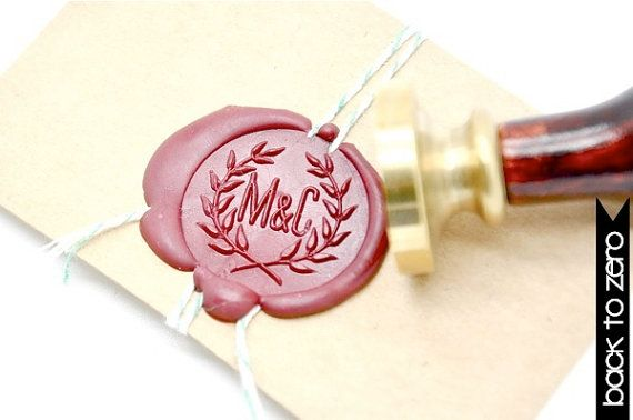 M&C Wax Seal Stamp x 1 by BacktoZero