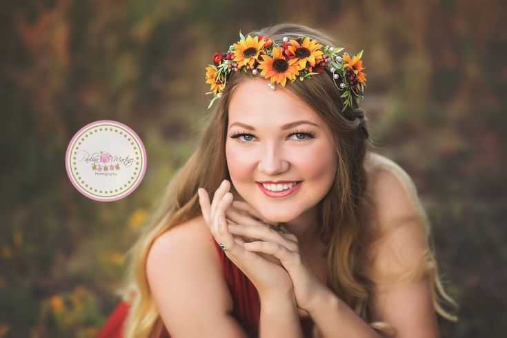 Kenna Floral Crown • Fall Floral Crown • Sunflower Floral Halo • Bohemian Crown • Fall Floral Crown • Autumn Halo | Ready To Ship • by Sew Trendy