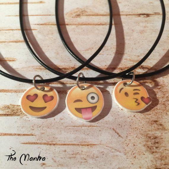 90s grunge retro style Emoji heart eyes winking by TheMantraStyle