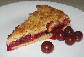 Пошаговый фото-рецепт вишневого пирога с крошкой | Выпечка | Вкусный блог - рецепты под настроение