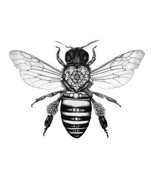 tattoo bee - Google-søgning                                                                                                                                                      More