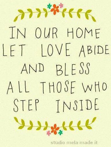 Home quote via Carol's Country Sunshine on Facebook