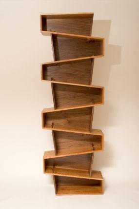 Slanted Bookshelf