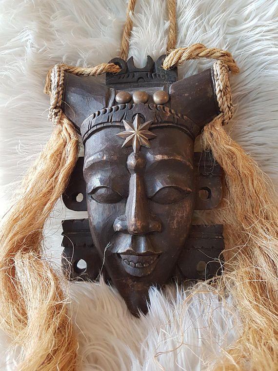 African masks #africa #homedecor #handcarved
