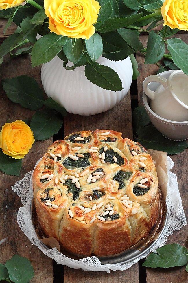 Délices d'Orient: Börek à la pâte filo épinards et feta