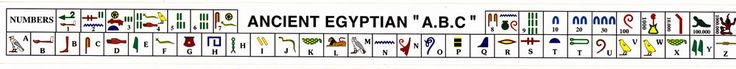 Ancient Egyptian ABC with numbers in Ancient Egyptian stickers! Fun enrichment activity for homeschoolers, party favors, fundraiser for PTO's, school stores and more!