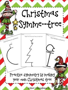 FREE  Christmas Symme-tree FREEBIE Math, Geometry, Christmas/ Chanukah/ Kwanzaa 3rd, 4th, 5th, 6th  Activities, Printables, Math Centers Your students will love practicing symmetry with these worksheets! Symmetry is a 4th grade Common Core Math Standard (4.G.3). This activity can be a fun way to introduce symmetry to 3rd graders and a fun way to review symmetry for 5th and 6th graders! To make this activity a little more challenging,...
