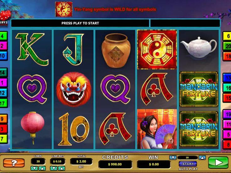 Wir haben sie gerade hinzufügt kostenlos online Automat Mandarin Fortune - http://spielautomaten7.com/mandarin-fortune/