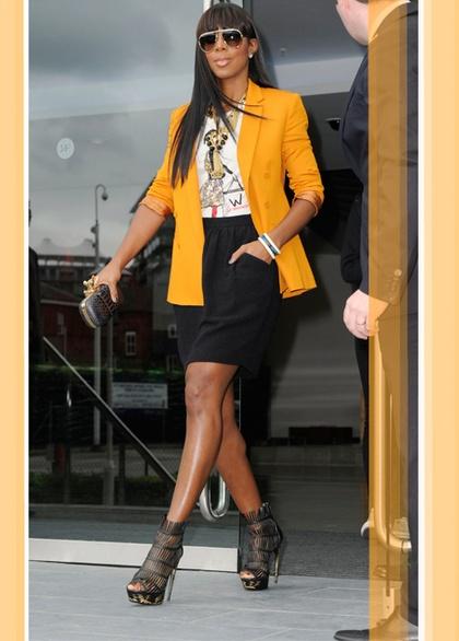 kelly rowland style   Kelly Rowland loves fashion - Girlz.nl