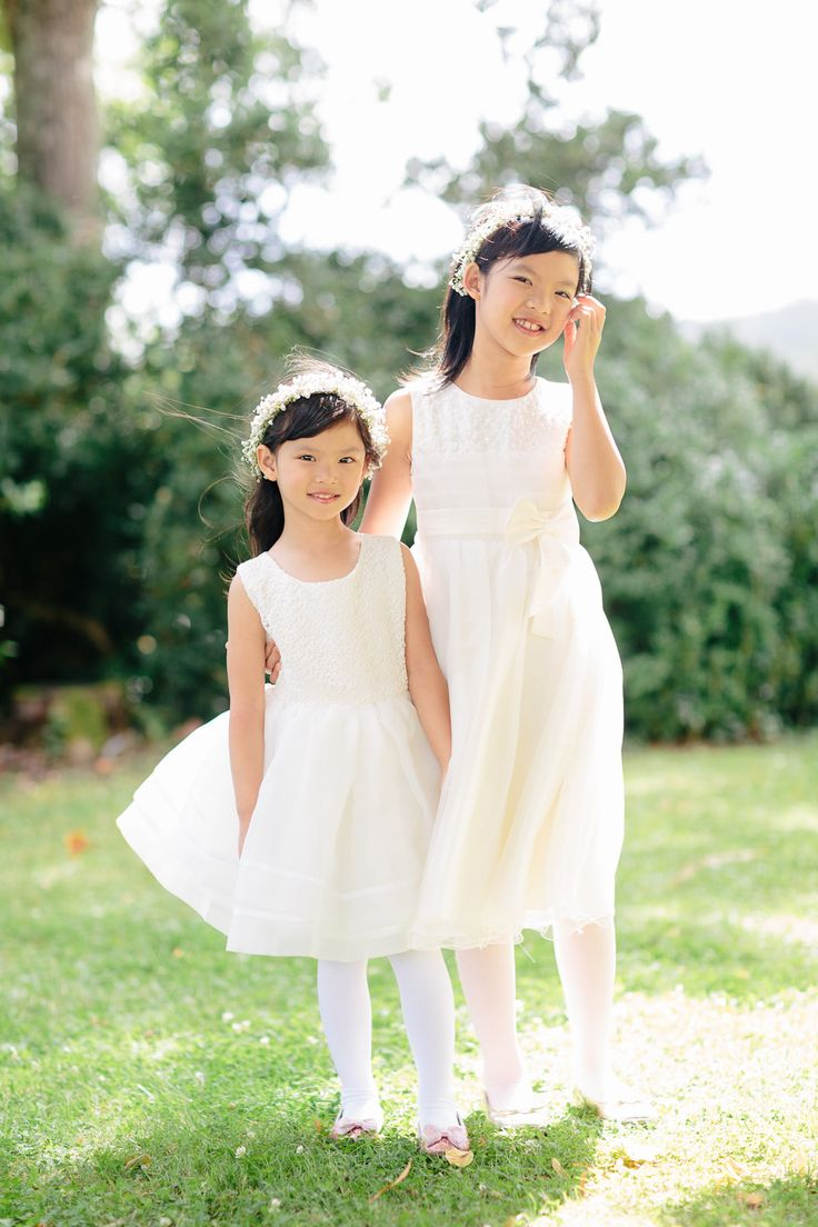 The beautiful flower girls: http://www.stylemepretty.com/little-black-book-blog/2015/03/16/romantic-summer-chateau-wedding/ | Photography: French Grey - http://frenchgreyphotography.com/