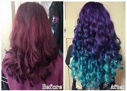 Image result for mermaid ombre hair