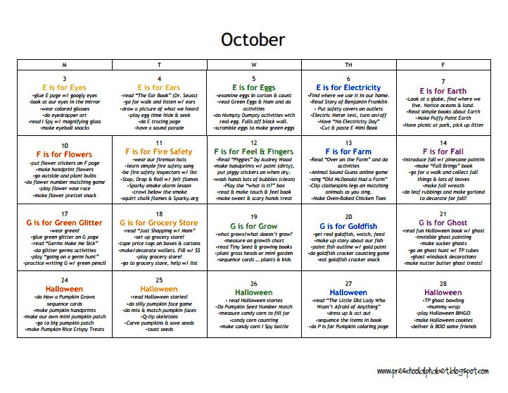 Best  Preschool  Curriculum Webbing Weekly Plan Images On