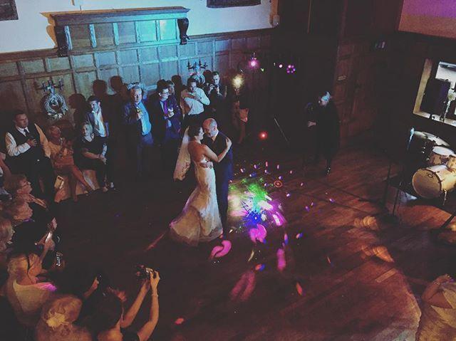 Jon and Lisa's first dance
