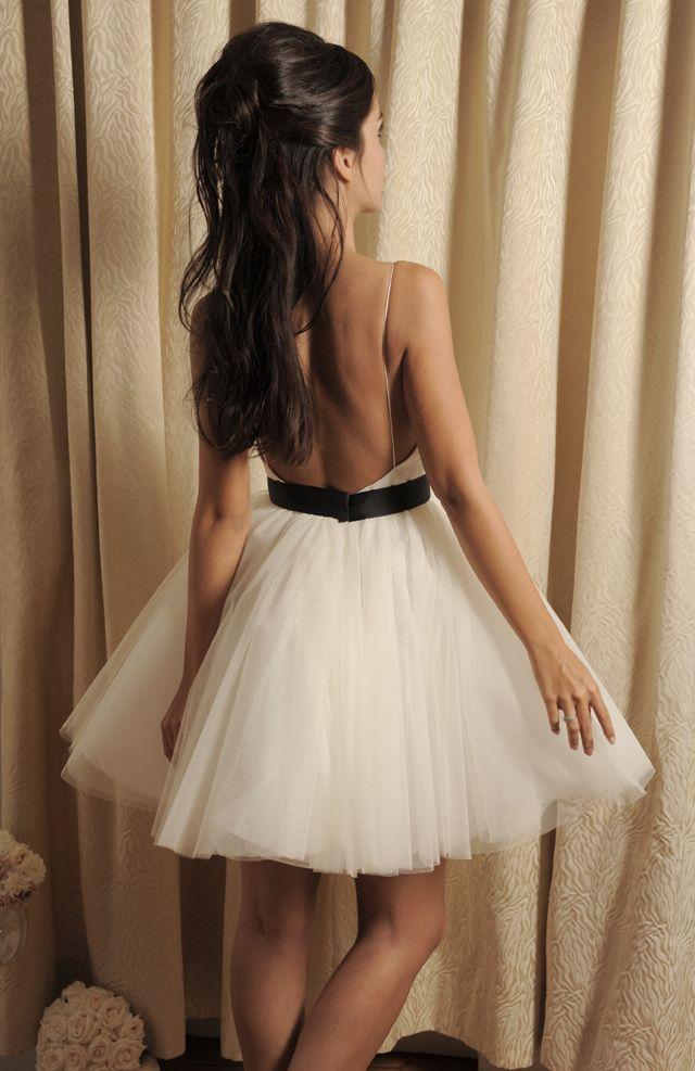Robe de mariee courte - Robe Samy Meryl Suissa 2014 - La Fiancée du Panda Blog Mariage & Lifestyle #Dress #Wedding