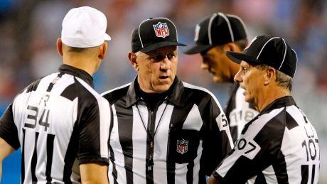 NFL refs object to Dennis Wideman ruling