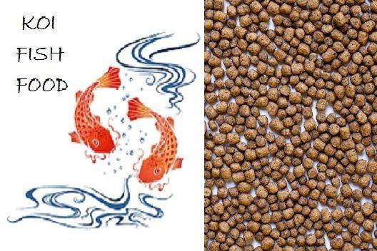10 lbs Bulk Koi Fish Food 1/8 Floating Pellets 32% Protein CLEARANCE SALE
