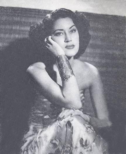 Beauty Olga Chorens, early 50s. From the book: El Libro de Oro de ...