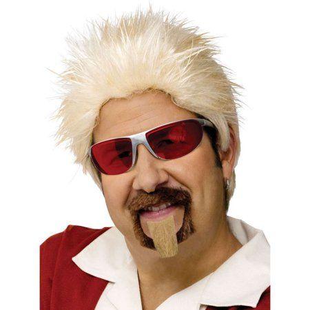 Celebrity Chef Guy Fieri Wig and Goatee Set