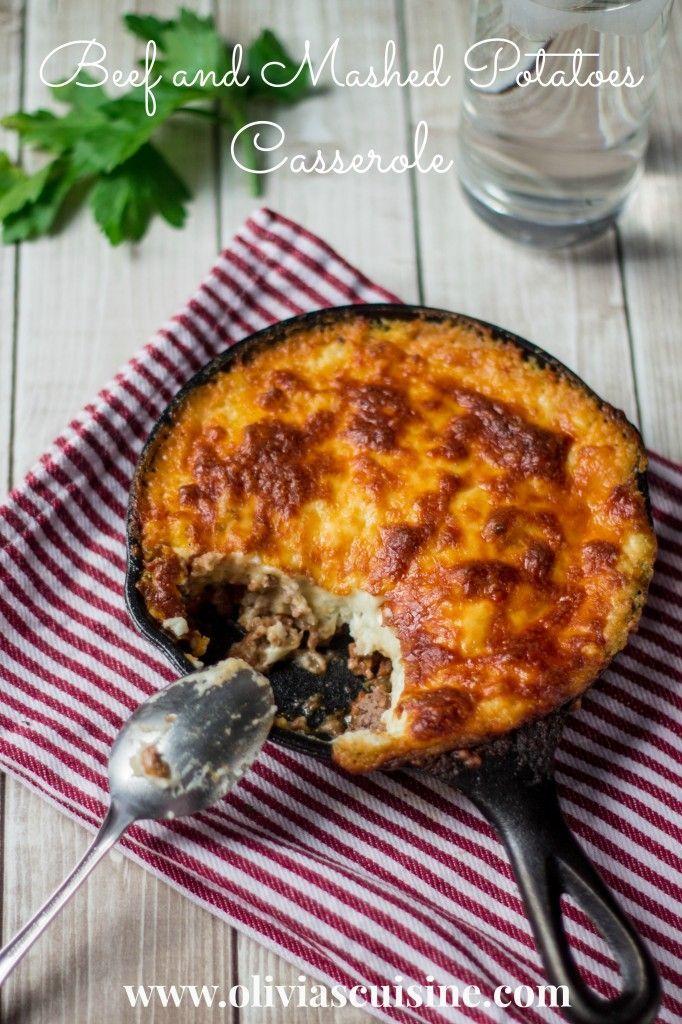 Beef and Mashed Potatoes Casserole (Brazilian Escondidinho)