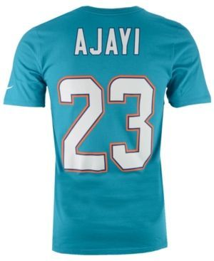 Nike Men's Jay Ajayi Miami Dolphins Pride Name and Number T-Shirt  - Blue XXL