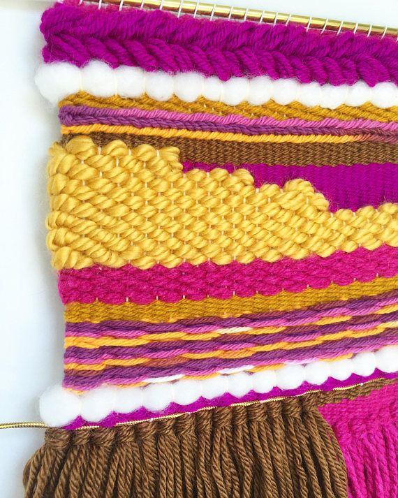 Wall Hanging Tapestry // Boho Woven Wall Hanging // Textile MidnightLunaWeavings.etsy.com #wovenwallhanging #bohodecor #boholiving #walltapestry #fiberart #wallhanging #wallart #lifestyle #textileart #wovenwallart #fiberartist #shophandmade  #wallhanging #tapestry #weaving #midnightlunaweavings #handwoven #etsy #handmade #shopsmall #wovenart #diy #weaver #yarnaddict #loom #yarnlove #handmade #makersgonnamake #weaverfever #tissage #weaversofinstagram #textileartist