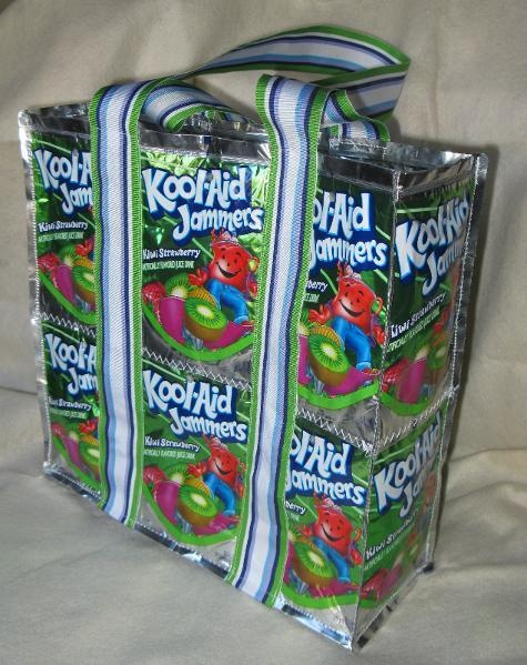 Juice Pouch bag---great project for older GS girls!
