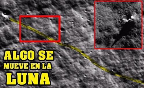BASES ALIENÍGENAS? Algo se Move na Superfície Lunar, deixando Marcas Estranhas!!