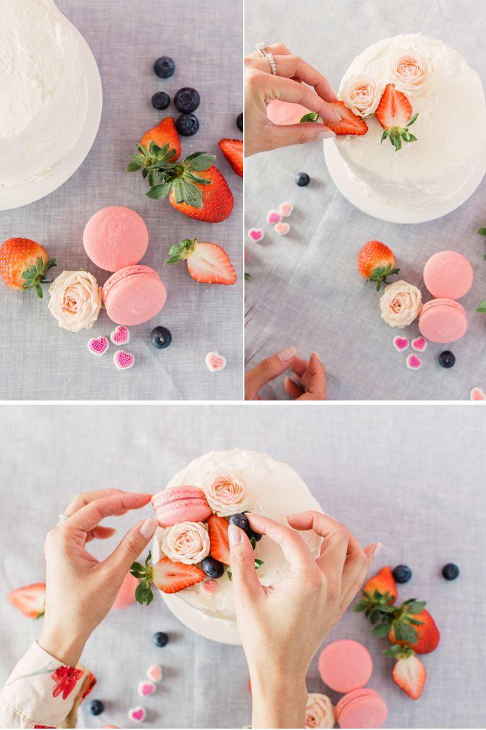DIY Naked Cake