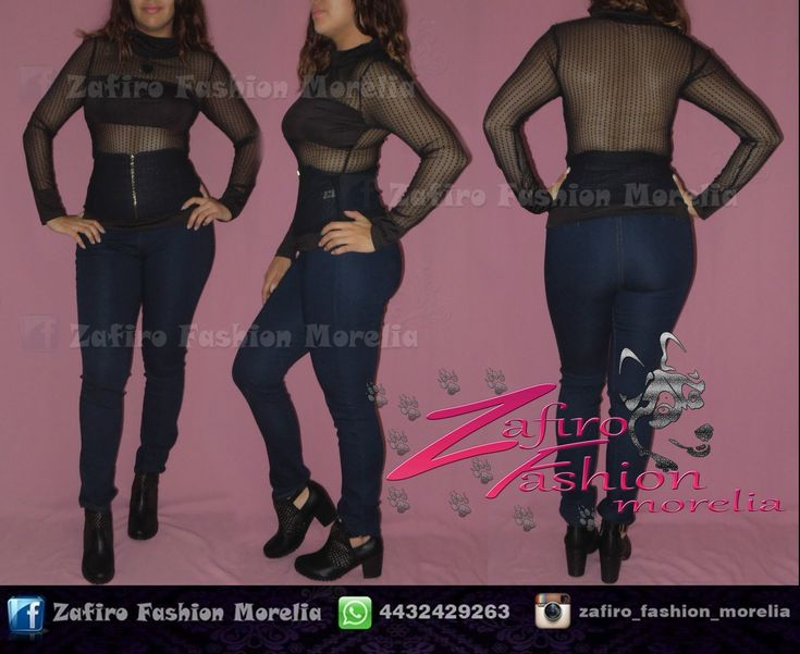 Pantalon costillero , Blusa manga larga transparente y Botin de piel negro encuentra este outfit y mas en ♥ facebook www.facebook.com/Zaf.girl/ ♥ Instagram en @zafiro_fashion_morelia ♥ Modelo instagram @stephy_viveros ♥ whats: 4432429263  #zafirofashionmorelia #ilovezafiro #BlusaMangaLarga #Transparente #Mesh #Negro #PantalonCostilero #Mezclilla #BotinNegro #Casual #Style #RockStar #Photography #Autoretrato #Nikon #ModaDeMujer #Femenina #morelia #uruapense #moda #Sexy #Coqueta #Sensual
