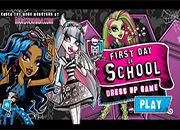 MH First Day of School DressUp | Juegos Monster High - jugar online