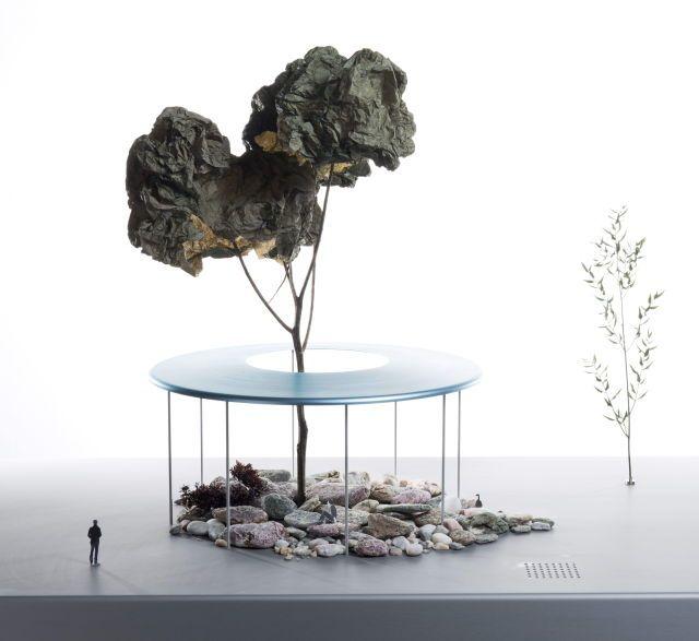 architecture, model photography, exterior, tree, landscape