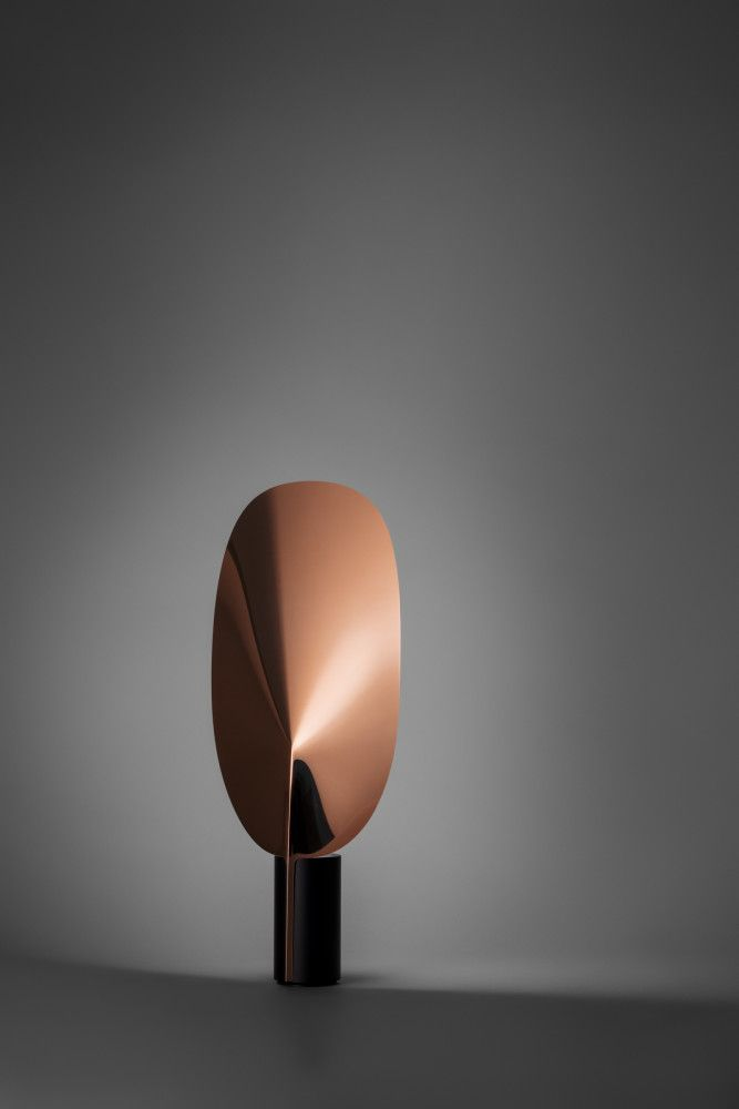 I'll take two in Copper - Flos 'Serena' table lamp....K