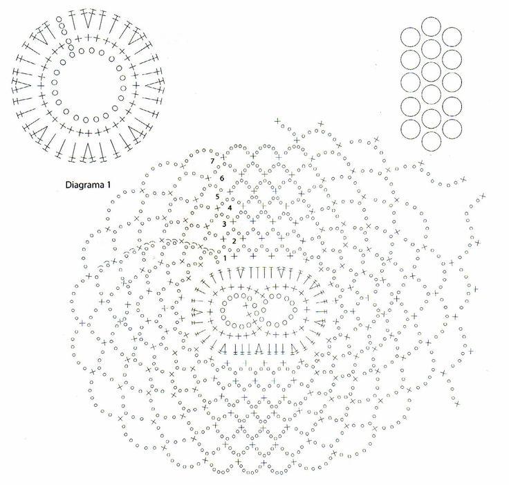 Materiales: 350 gramos de fibra acrilica en color ocre; Aguja de crochet nº 000.