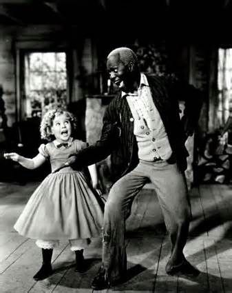 Shirley Temple dances with Mr. Bojangles!