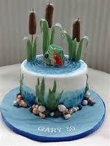 Fishing Cake Birthday Cakes
