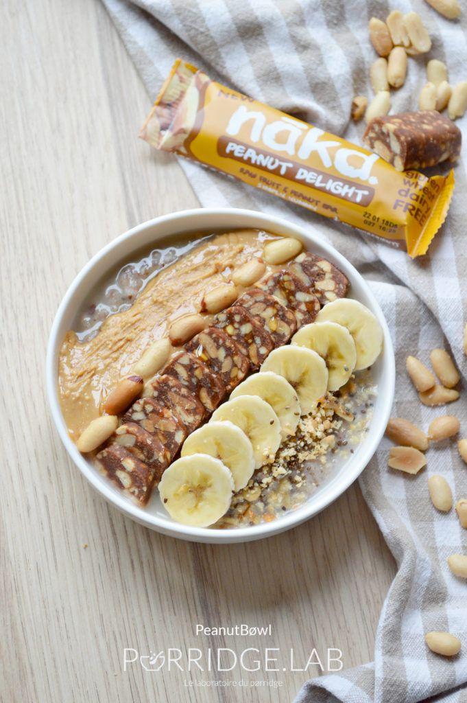 PeanutBøwl- Mon pørridge sarrasin-cacahuètes