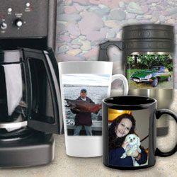 Photo Mugs and Drinkware
